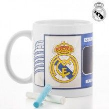 TAZA CON MARCADOR REAL MADRID