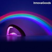 PROYECTOR QUITAMIEDOS DE ARCOIRIS CON LUCES LED